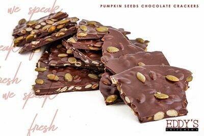 Chocolate Crackers with Pumpkin Seeds (500g) مقرمشات شوكولا باللب