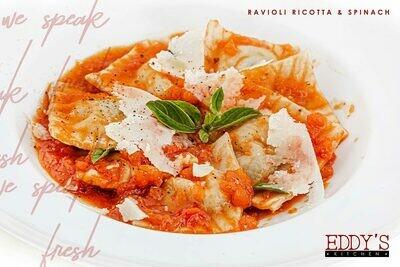 Ricotta & Spinach Ravioli (600g) رافيولي ريكوتا و سبانخ