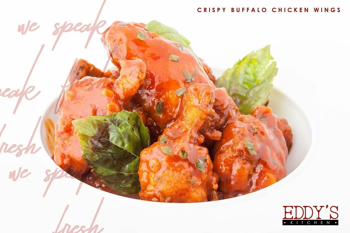Crispy Buffalo Chicken Wings (600g) كرسبي بافلو تشيكن وينجز