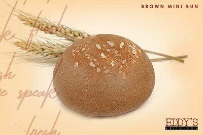 Mini Brown Bun (12) ميني عيش برجر بني