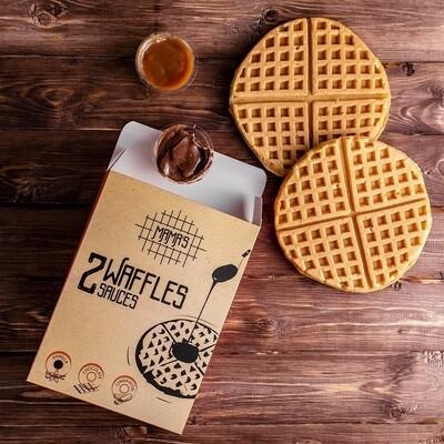 Vanilla Waffles وافل فانيلا
