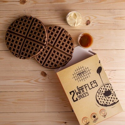 Chocolate Waffles وافل شوكولاته