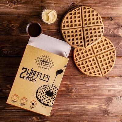 Cinnamon Waffles وافل بالقرفه