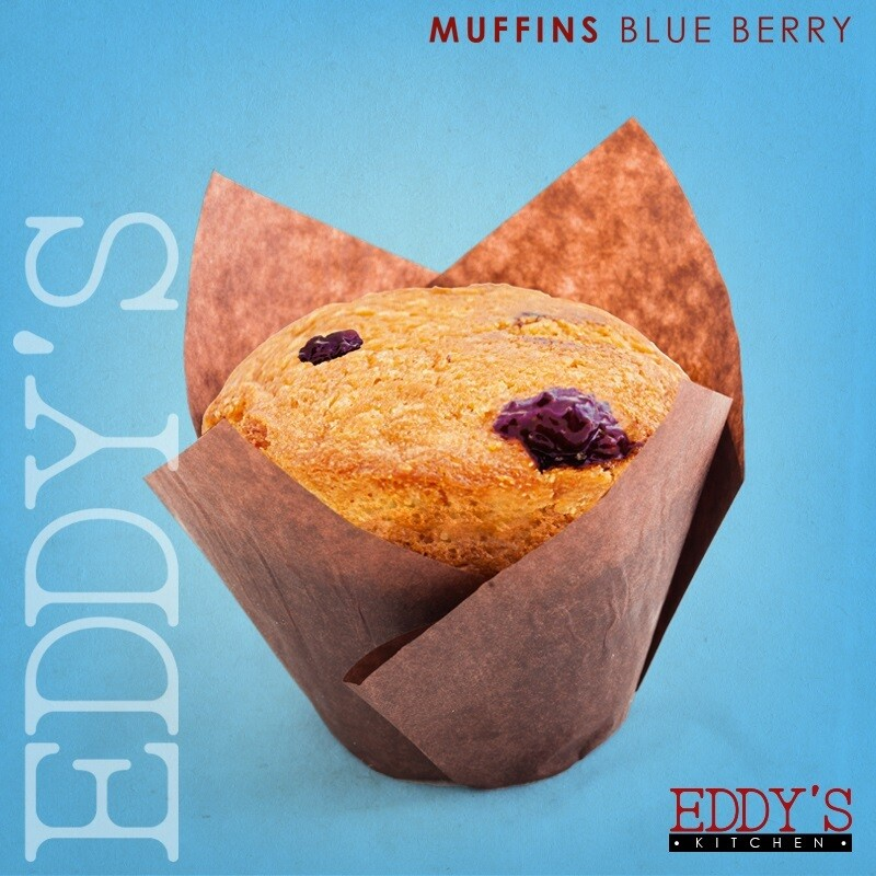 Blueberry Muffins (2) مافن بالبلوبيري