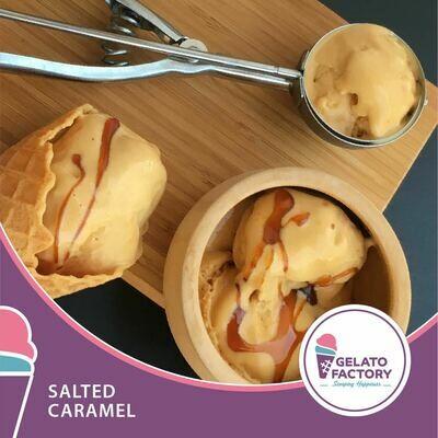 Salted Caramel Gelato (700g) جيلاتو كاراميل مالح