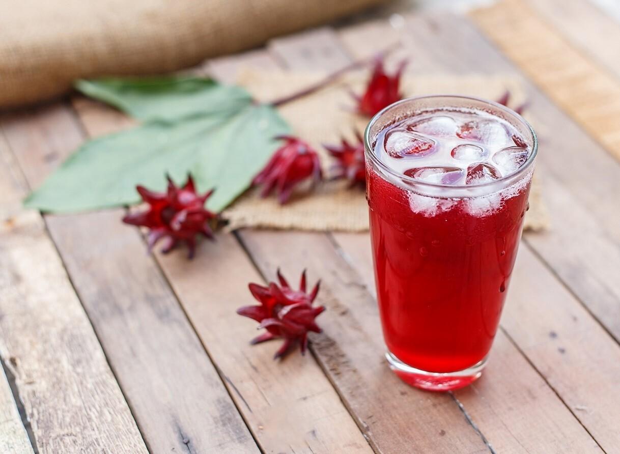 Hibiscus Juice (1L) عصير كركديه