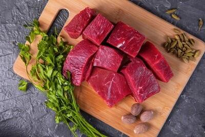 Lean Beef Cubes (500g) لحم خضار بلدي أحمر