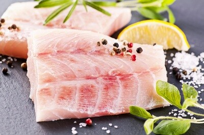 Nile Perch Fillets (500g) فيليه قشر بياض