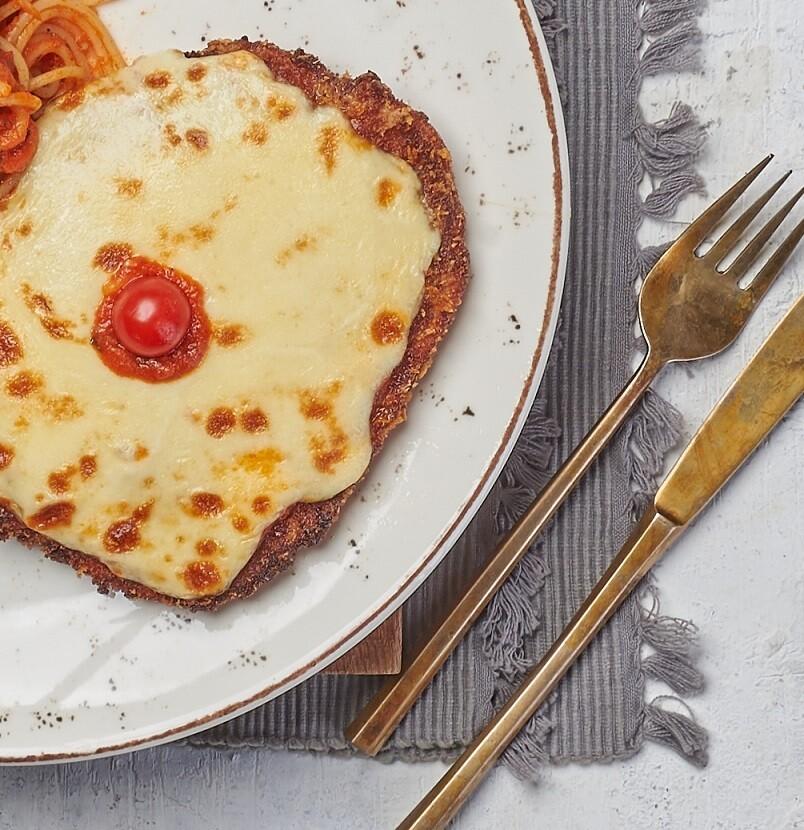 Pizzaiola Escalope (500g) اسكالوب بيتزايولا