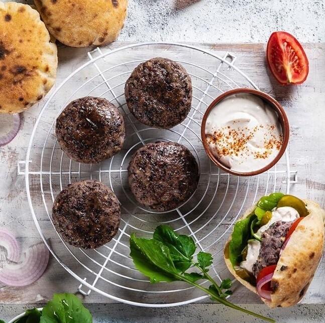 Vegan Burger (4) برجر نباتي
