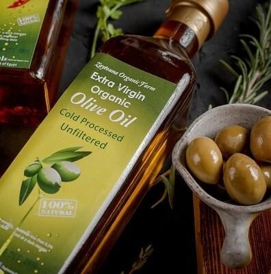Cold-Pressed Organic Extra Virgin Olive Oil زيت زيتون عضوي عصرة أولى مضغوط على البارد