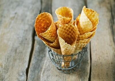 Ice Cream Cones (3) بسكويت الايس كريم