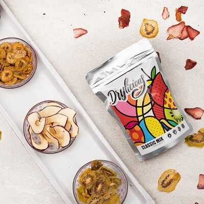 Classic Dried Mixed Fruit Crisps ميكس فواكه مجففة
