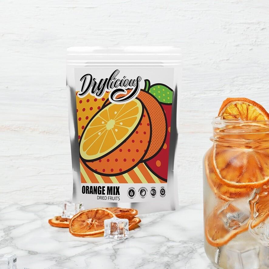 Dried Orange Crisps برتقال مجفف