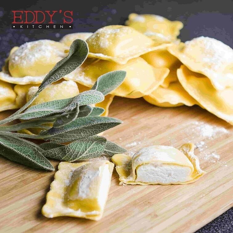 Four Cheese Ravioli (600g) رافيولي بأنواع الجبن الأربعة