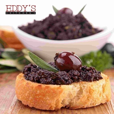 Black Olive Tapenade with Anchovies (150g) زيتون تاباناد مع الانشوجة