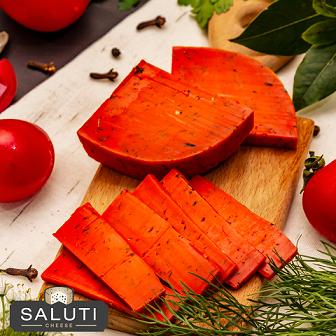 Red Pesto Gouda Cheese (250g) جبن جودة ريحان احمر