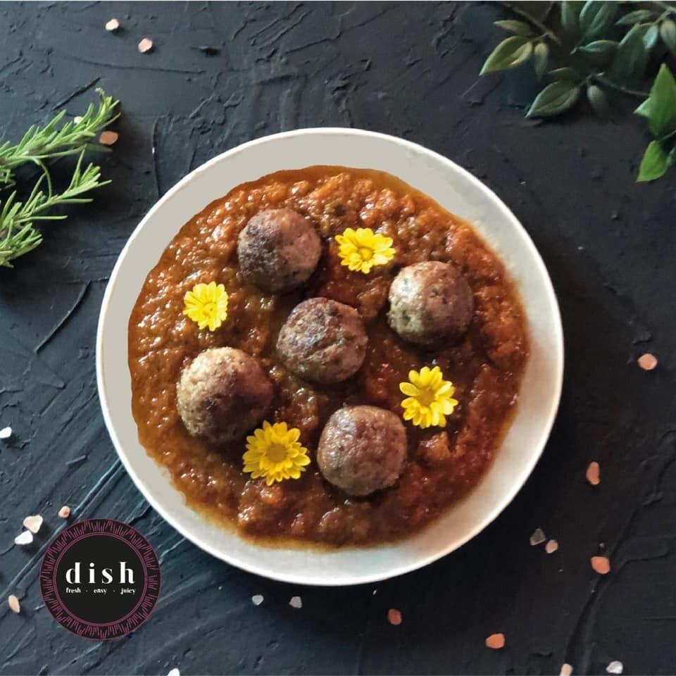 Gluten-Free Marinara Meatballs (250g) كرات اللحم بصوص المارينارا خالي من الجلوتين