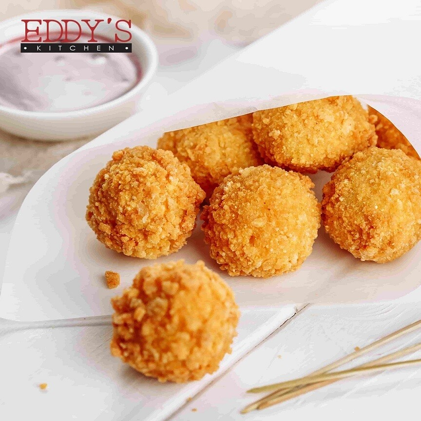 Chicken Arancini (12) كرات الأرز بالدجاج