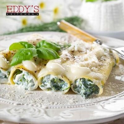 Ricotta & Spinach Cannelloni (800g) كانيلوني بالسبانخ والريكوتا