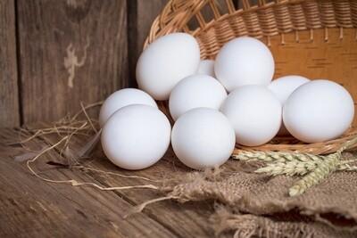 Balady White Eggs (10) بيض بلدى