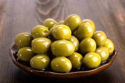 Azizi Green Olives (1kg) زيتون اخضر عزيزي
