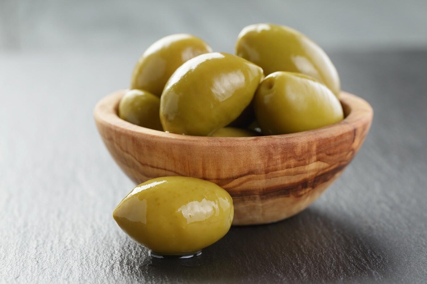 Tofahi Green Olives (1kg) زيتون اخضر تفاحي