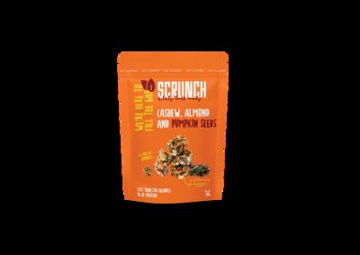 Cashew, Almond & Pumpkin Seeds Nut Clusters كلاستر كاجو ولوز ولب اليقطين