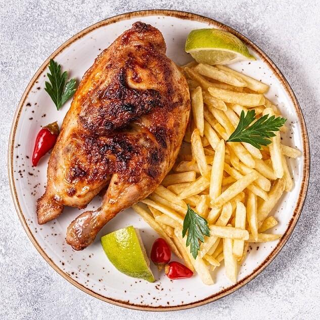 Smoked Half Chicken (500g) نصف دجاج مدخن