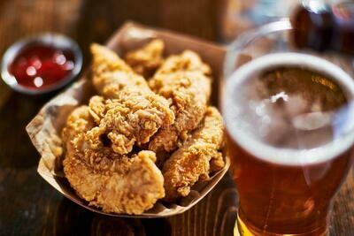Crispy Chicken Tenders(500g) تندر دجاج مقرمش