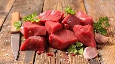 Beef Cubes Low Fat (500g) كباب حلة قليل الدسم بلدي