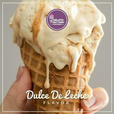 Dulce de Leche Gelato (700g) جيلاتو دولتشي دي ليتشي