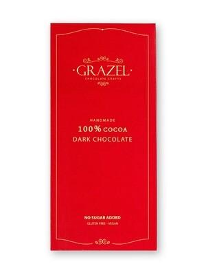 100% Unsweetened Dark Chocolate  شوكولاته دارك خام غير محلاه