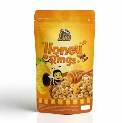 Honey Rings Cornflakes (250g) كورن فليكس بالعسل