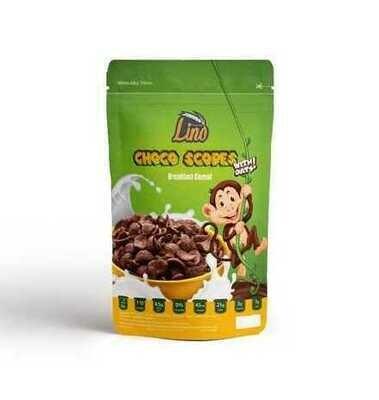 Oats & Choco Scopes Cereal (250g) رقائق الشوفان والذرة بالشوكولاتة