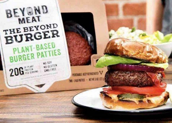 Beyond Meat Burgers البرجر القائم علي النبات