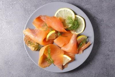 Smoked Salmon سلمون مدخن