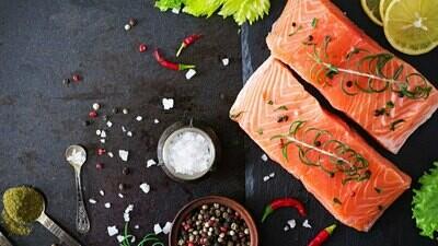Salmon Fillet (500g) فيليه سلمون