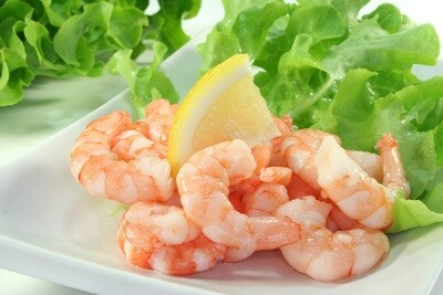 Medium Peeled Shrimps (400g) جمبري مقشر وسط