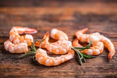 Large Peeled Shrimps (400g) جمبري مقشر كبير