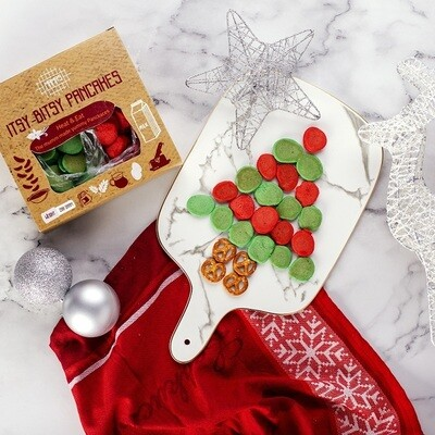 Christmas Itsy Bitsy Pancakes (200g) ميني بان كيك الكريسماس