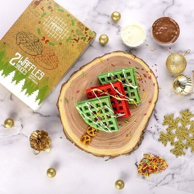 Christmas Waffles  وافل الكريسماس