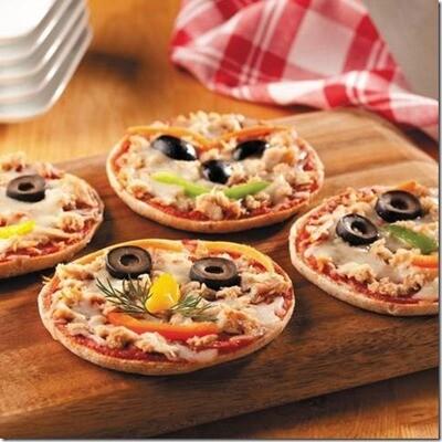 Mini Tuna Pizzas (300g) مينى بيتزا تونة