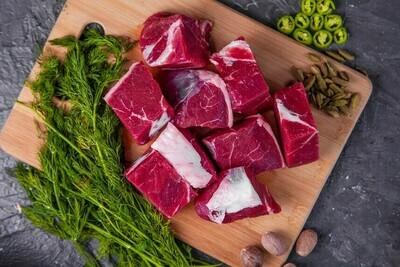 Beef Cubes Medium Fat (500g) لحم خضار مكعبات بلدي متوسط الدهن