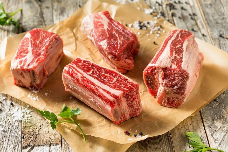 Beef Short Ribs (500g) ضلوع قصيرة بالعظم بلدي