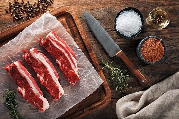 Boneless Beef Short Ribs (500g) ضلوع قصيرة مخلية بلدي