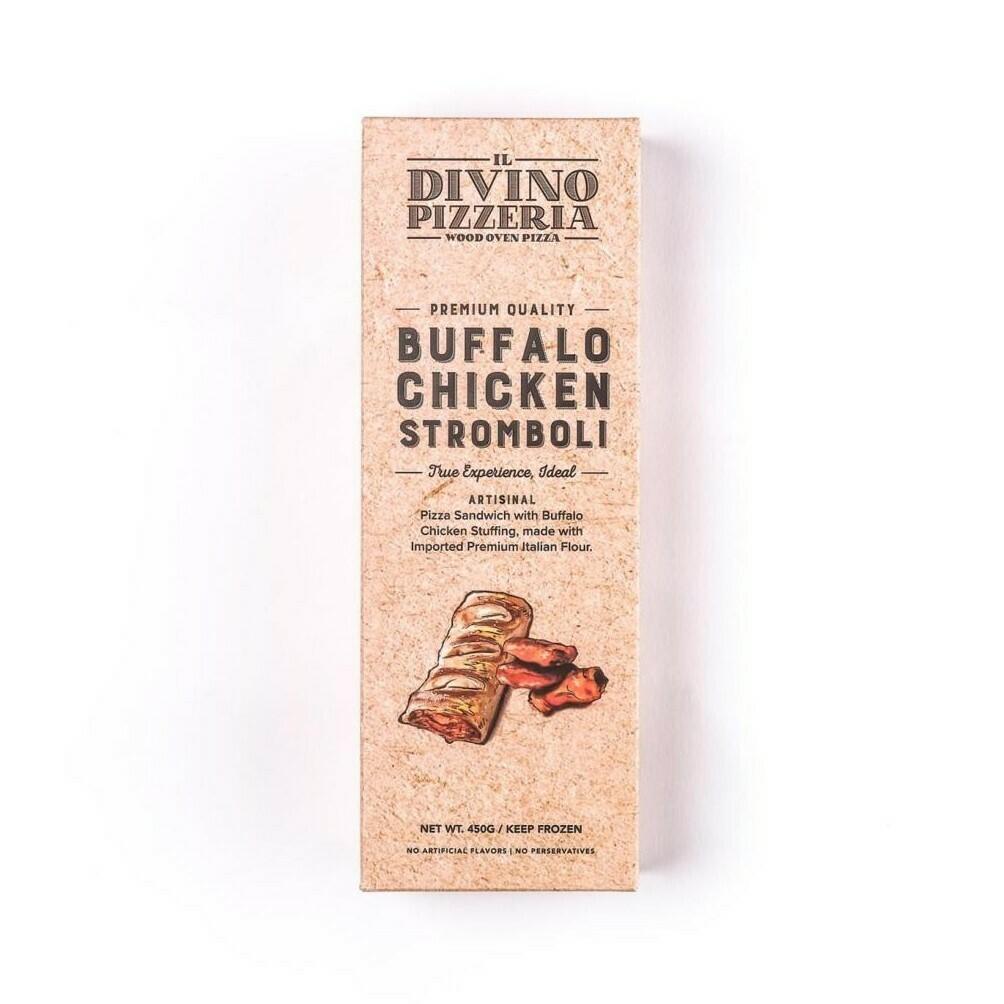 Buffalo Chicken Stromboli اسطرمبولي فراخ