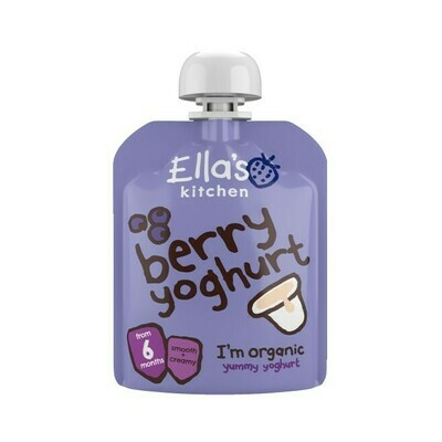 Ella's Kitchen - Blueberry Greek Yogurt زبادي توت