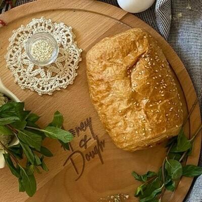 Pâté with cheese & mint باتيه جبنة و نعناع