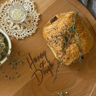 Pâté with cheese & thyme باتيه جبنة و زعتر